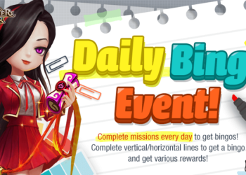 Daily Bingo Event!