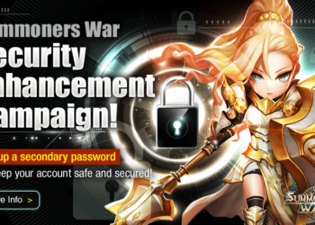 Protect Your Account! Summoners War Security Enhancement Campaign!