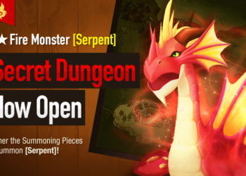 Fire Serpent (Fao) is the February 2018 Secret Dungeon (Serpent Guide)