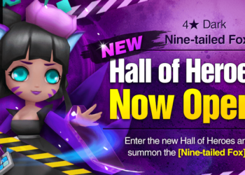 Dark Nine-tailed Fox (Kamiya) – March 2018 Hall of Heroes! (Nine-tailed Fox Guide)