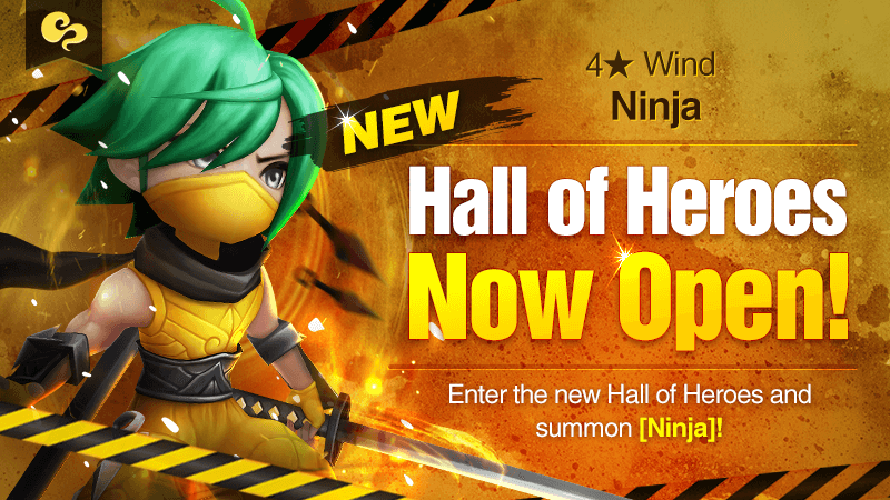 April Hall of Heroes – [4★ Ninja (Wind)]