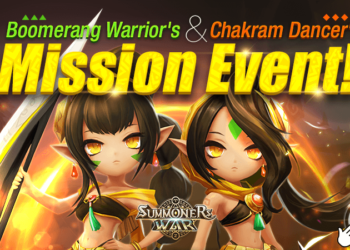 Boomerang Warrior's & Chakram Dancer's Mission Event!