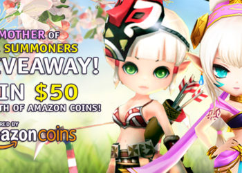 Win $50 Worth of Amazon Coins in the MOTHER of ALL SUMMONERS Giveaway