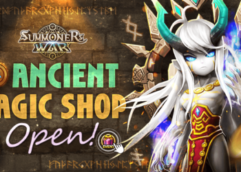 Ancient Magic Shop Open! Event Notice