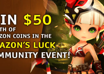 Win $50 Worth of Amazon Coins in the Amazon's Luck Community Event!