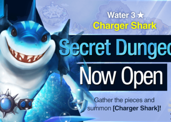 Summoners War Water Charger Shark SD