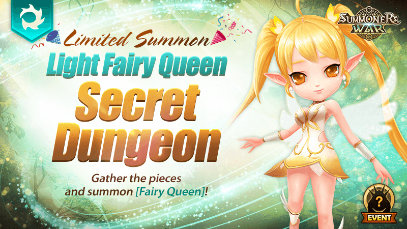 Light Fairy Queen Secret Dungeon