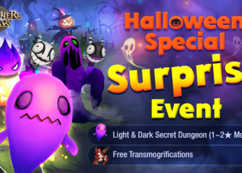 Summoners War Halloween Special Surprise Event
