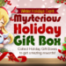 Mysterious Holiday Gift Box Event