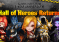 Summoners War 5-year Anniversary – Hall of Heroes Returns