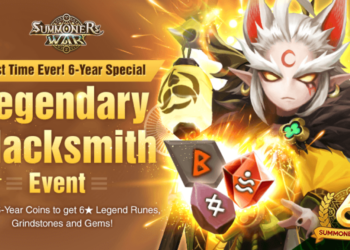 6-Year Special Event No. 2! ★Legendary Blacksmith★ Event